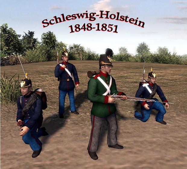 Units Of Schleswig Holstein 1848 1851 Image Nineteenth Century