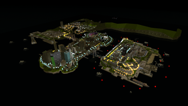 Project 2DFX Testing on Liberty City Stories's maps
