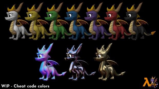 cheat code color render 1