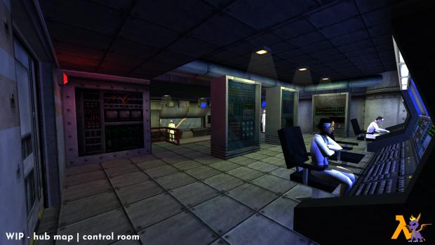 WIP - hub map   control room