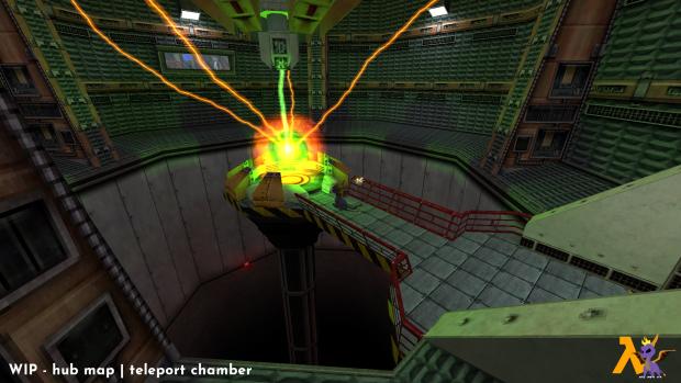 WIP - hub map   teleport chamber