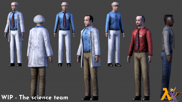 WIP - The science team