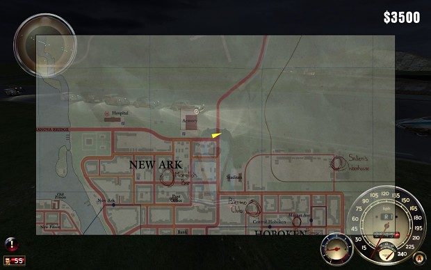 New Ark, Works Quarter, China Town Exit