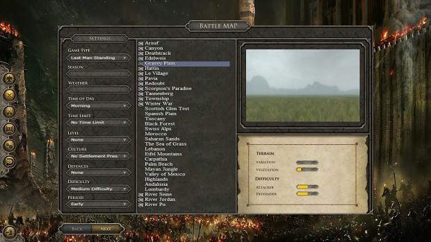 Custom Battle: Map