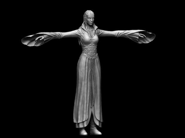 Arwen 3D model