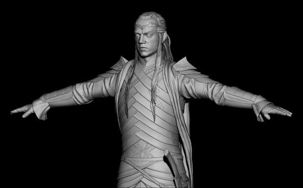Lord Elrond 3D model