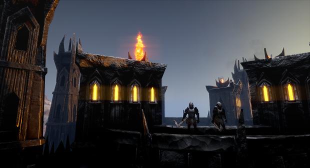 Isengard Fortress Upgraded
