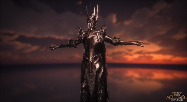 Sauron Gameplay model