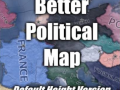 Better Political Map - Default Height Version