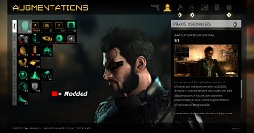 Deus Ex Mankind Divided : Modded Augmentations