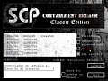 SCP - Containment Breach Classic Edition [Cancelled]