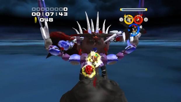 Sonic Heroes Mods Metal sonic