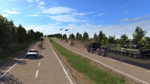 The Ukrainian mechanized brigade is moving to the front