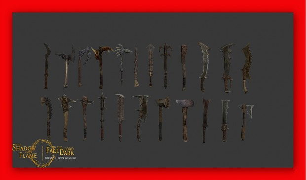 Darkness Weaponry (set 1)