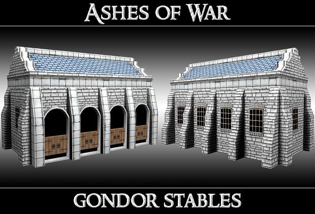 Gondor Stables (1st level)