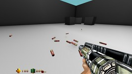 Real 3d Rendered Bullet Casings