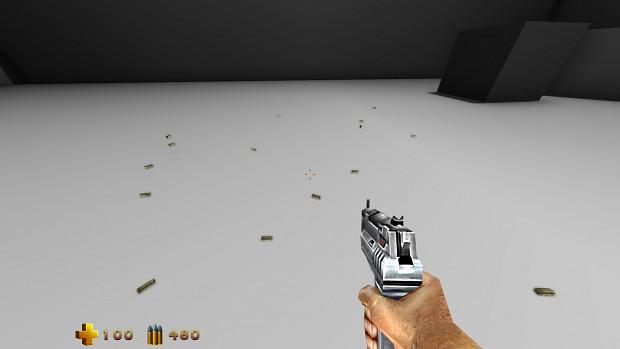 Real 3d Rendered Bullet Casings