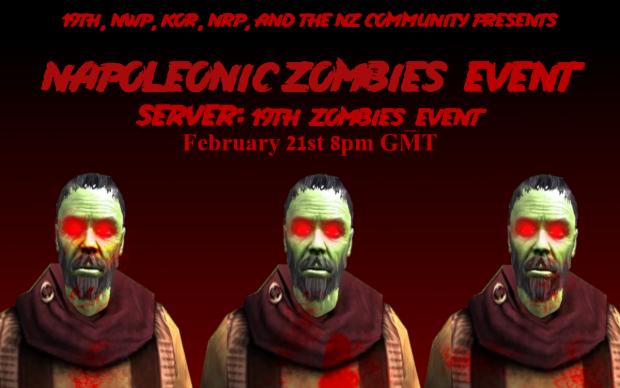 NRP Napoleonic Zombies Event 8pm GMT