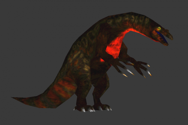 Updated Beipiaosaurus model
