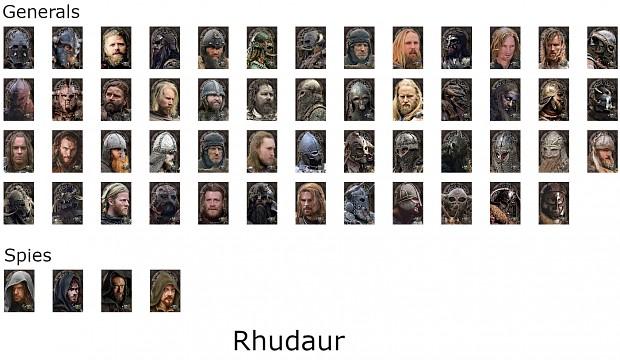 Rhudaur Portraits
