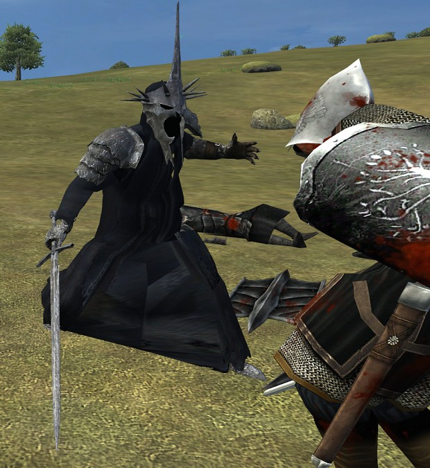 Witch King in Combat