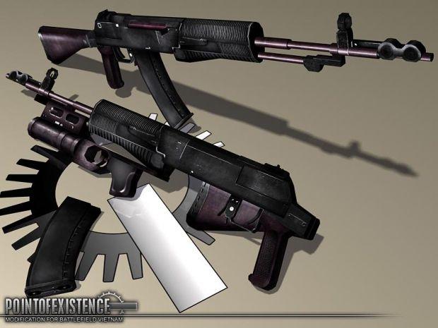 "Nikonov AN-94 ""Abakan"" Assault Rifle"