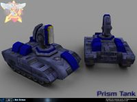 Red alert Coalition Prism Tank