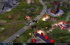 Red alert Army Under Attack By Tiberian Coalition