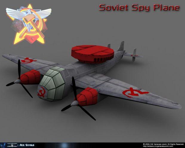 Soviet Spy Plane Render