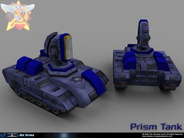 Red alert Coalition Prism Tank