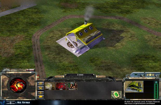 Tiberian Coalition Subarmy Screen