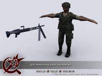 MG Gunner Infantry