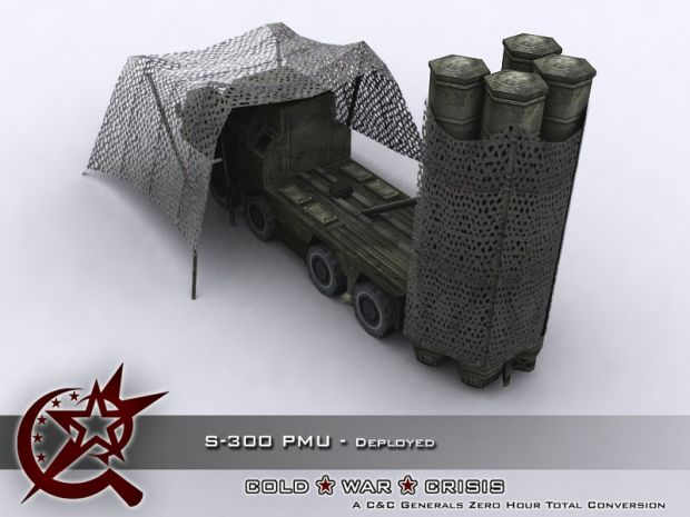 S-300 PMU - Deployed - 02