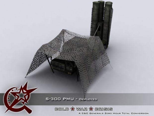 S-300 PMU - Deployed