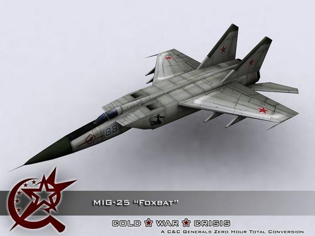 MiG-25 Render