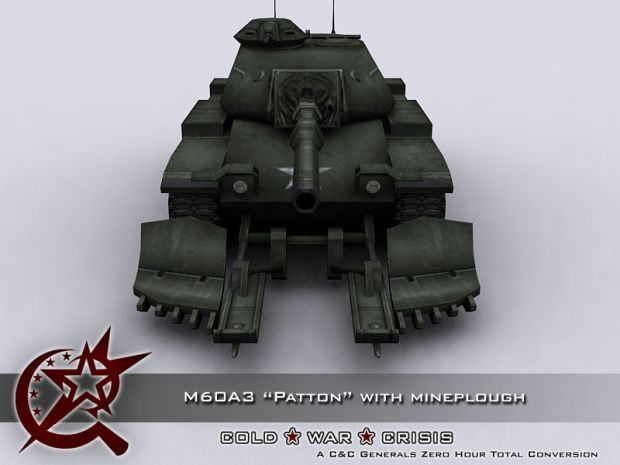 """M60A3 """"Patton"""" with Mineplough - 02"""