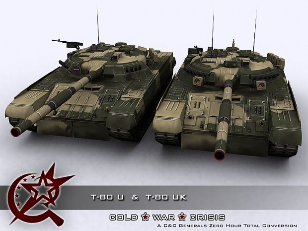 T-80 U and T-80 UK