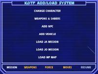 KotF add/load menu system