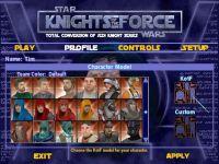 KotF player menu
