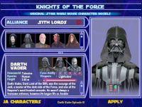 KotF Player menu system (sp)