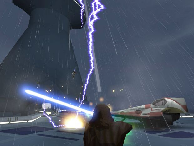 KotF Kamino demo image - Knights Of The Force Mod for Star Wars: Jedi