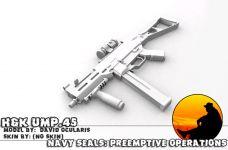 H&K UMP .45 Render 1