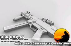 H&K UMP .45 Render 2