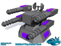 Render - Battalion V Fury Cannon Turret