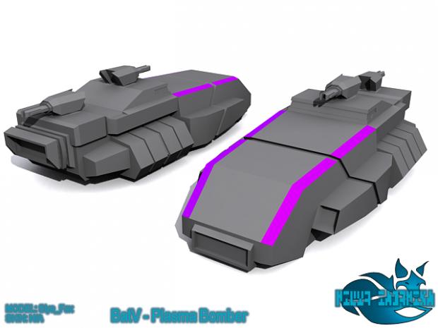 Battalion V - Plasma Bomber