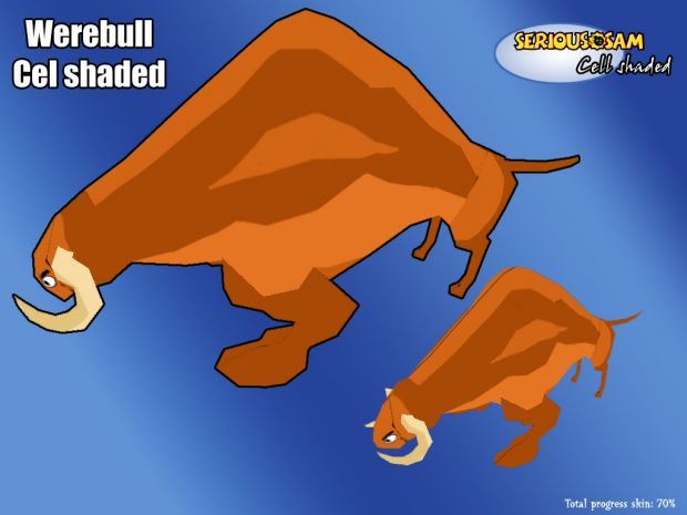Werebull :: Cel shaded
