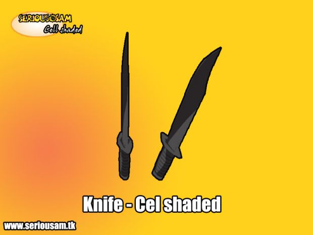 Knife - Cel shaded