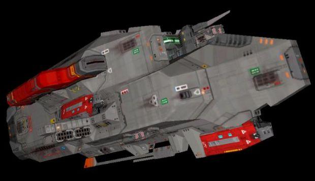 """T-106 """"Thunderer"""" Heavy Corvette"""