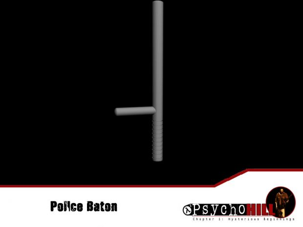 The baton(untextured)