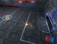 Volley shot!